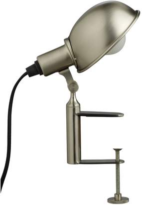 Habitat Tommy Silver Desk Clamp Lamp