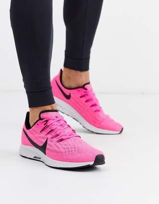 Nike Running Air Zoom Pegasus 36 trainers in pink