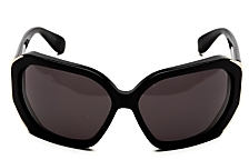 Marc by Marc Jacobs Angled Sunglasses: Black