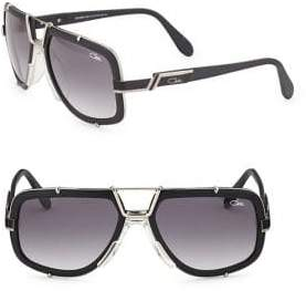 Cazal Full-Rim Aviator Sunglasses
