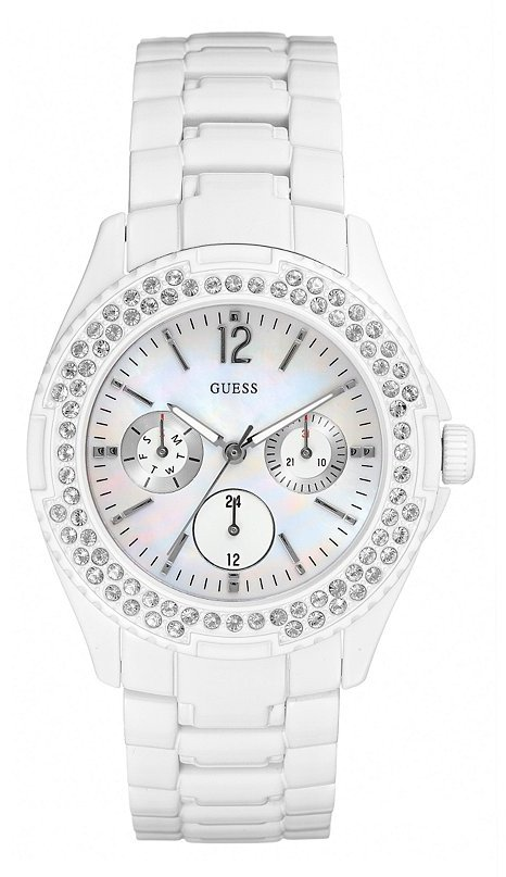 Stainless Steel Bracelet Watch - White