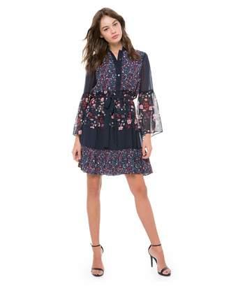 Juicy Couture Caprice Floral Mix Flirty Dress