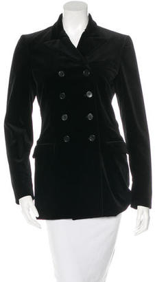 Ralph Lauren Collection Structured Double-Breasted Blazer $125 thestylecure.com