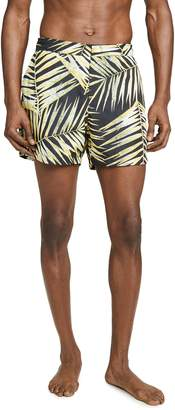 Double Rainbouu Tiger Palm Swim Shorts