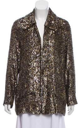 Rodarte Sequin Evening Jacket