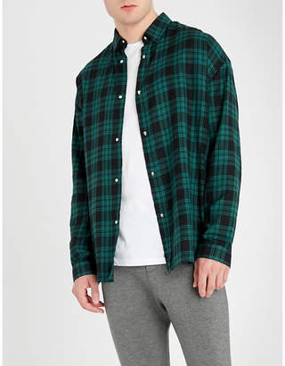 The Kooples Tartan cotton shirt