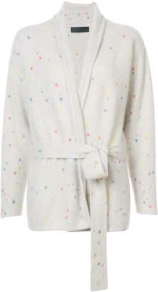 The Elder Statesman cashmere splatter paint jacket