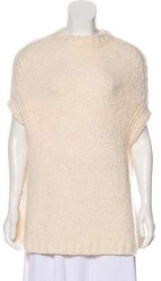 Rick Owens Moody Sleeveless Sweater White Moody Sleeveless Sweater