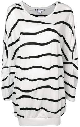 Y-3 striped oversized T-shirt