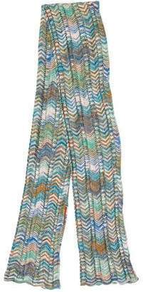 Missoni Chevron Open Knit Scarf