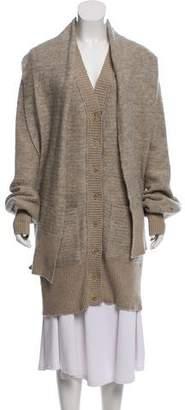 Chloé Wool-Mohair Knit Cardigan