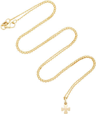 With Love Darling Clover 18K Gold Necklace