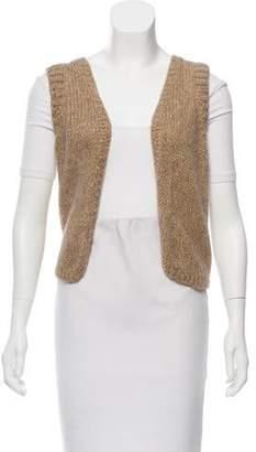 Zadig & Voltaire Metallic Knit Vest