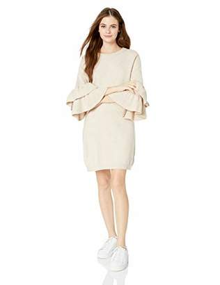 BB Dakota Junior's Honey Ruffle Sleeve Sweater Dress