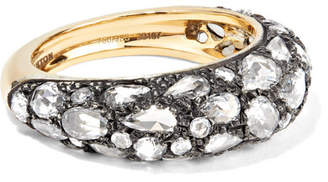 Fred Leighton - Collection 18-karat Gold, Sterling Silver And Diamond Ring
