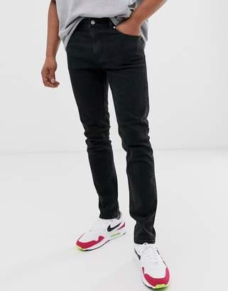 Friday slim jeans in black