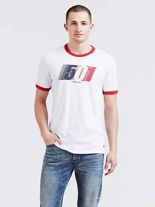 Levi's Retro Ringer Graphic Tee Shirt T-Shirt