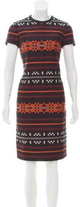 Proenza Schouler Patterned Wool Dress