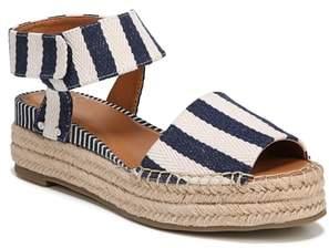 df19841af09 Franco Sarto Blue Leather Women s Sandals - ShopStyle