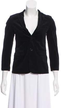 Isaac Mizrahi Notched-Lapel Structured Blazer