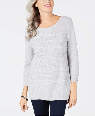 Karen Scott Crewneck Sweater