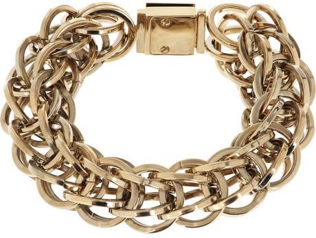 Burberry Summer brass chain bracelet