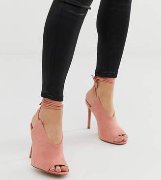 002e25179b5e1 Asos Design DESIGN Wide Fit Wireless high heels