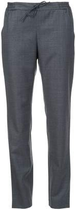 A.P.C. drawstring slim-fit trousers