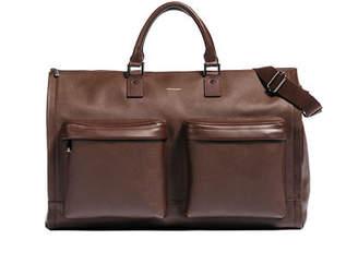 hook + ALBERT Leather Garment Weekender Bag