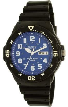 Casio Men's Dive Style Watch, Black/Blue