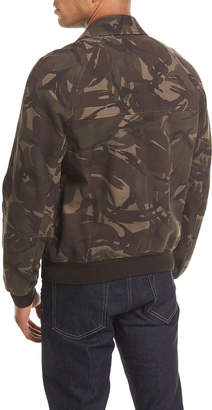 Tom Ford Camo-Print Nubuck Jacket