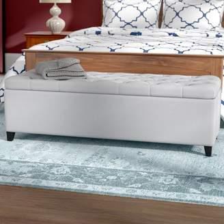 Three Posts Amalfi Upholstered Storage Bench