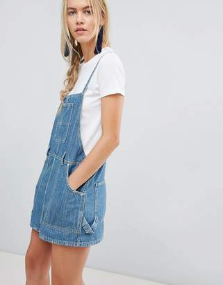 Free People Sunset Love Denim Overall Dress