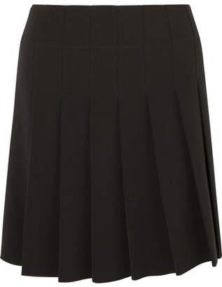 A.P.C. Ella Pleated Crepe Mini Skirt - Black