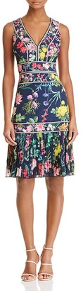 Tadashi Shoji Floral Cocktail Dress $408 thestylecure.com
