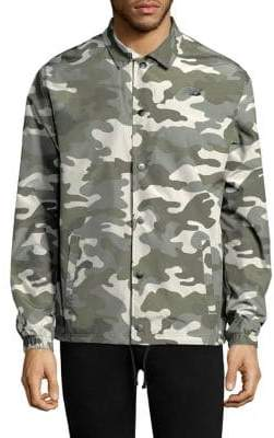New Balance Nylon Camo Jacket