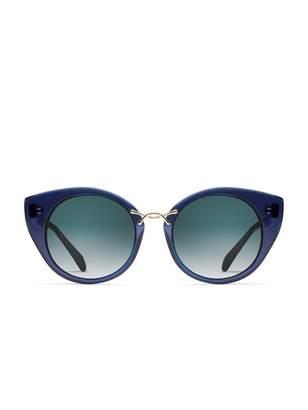 7e425b2695 Oscar de la Renta x Morgenthal Frederics Twist 4 Sunglasses