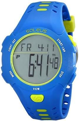 Soleus Men's SR021-452 Contender Digital Display Quartz Green Watch