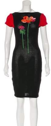 Zang Toi Embellished Knee-Length Dress