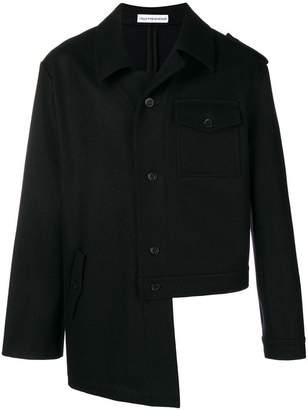 Gosha Rubchinskiy asymmetric style jacket