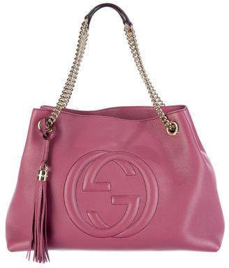 GucciGucci Soho Leather Shoulder Bag