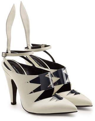 Calvin Klein Kai Leather Sandals