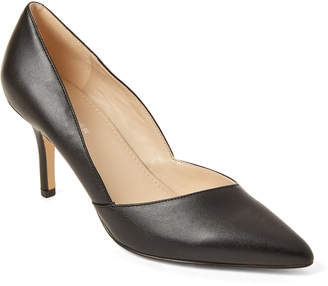 Marc Fisher Black Tuscany Pointed Toe Pumps