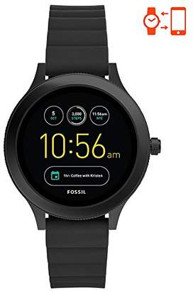 Fossil Q Women's Gen 3 Venture Stainless Steel and Silicone Smartwatch