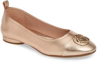 a0b862207a2 Taryn Rose Penelope Cap Toe Ballet Flat