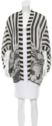 Anna SuiAnna Sui Silk Printed Kimono