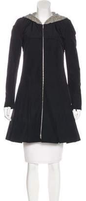 Jason Wu Hooded Knee-Length Coat