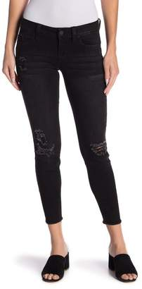 YMI Jeanswear Jeans WannaBettaButt Frayed Hem Ankle Jeans