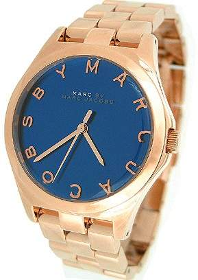 Marc Shoes By Women's Henry MBM3213 Rose Stainless-Steel Quartz Watch