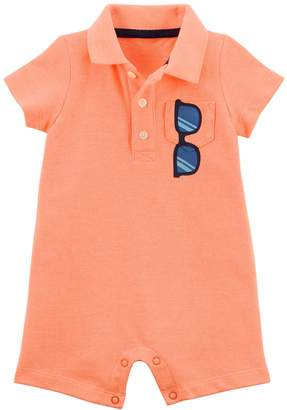 Carter's Baby Boy Sunglasses Polo Romper